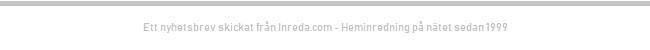 Nyhetsbrev 975 från Inreda.com